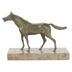 Fine Antique Equestrian Horse Bronze