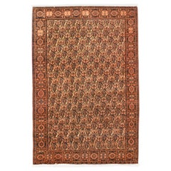 Fine Antique Farahan Persian Rug, Hand Knotted, circa 1910