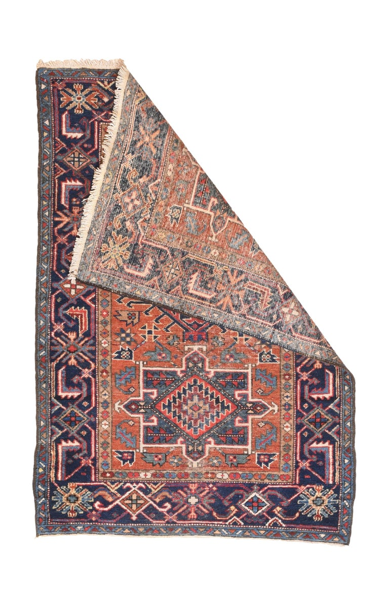 Other Fine Antique Heriz Persian Rug, Hand Knotted, circa 1890 For Sale