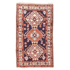 Fine Antique Heriz Persian Rug, Hand Knotted, circa 1920s
