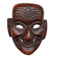 Fine Antique Himalayan Buddhist Monpa Mask