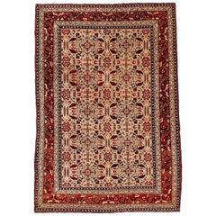 Fine Antique Indian Ivory Agra Rug