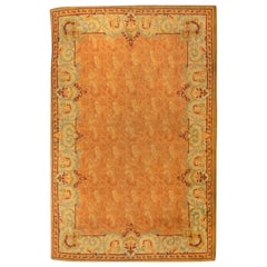 Fine Antique Irish Donegal Rug, Hand Knotted, circa 1920