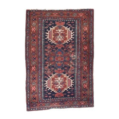 Fine Antique Karajeh Heriz Persian Rug, Hand Knotted, circa 1910