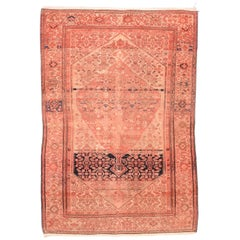 Fine Antique Malayer Persian Rug, Hand Knotted, circa 1890