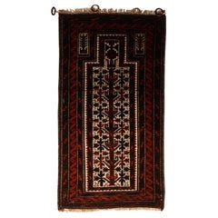 Fine Antique Persian Baluch Rug, Hand Knotted, circa 1930s