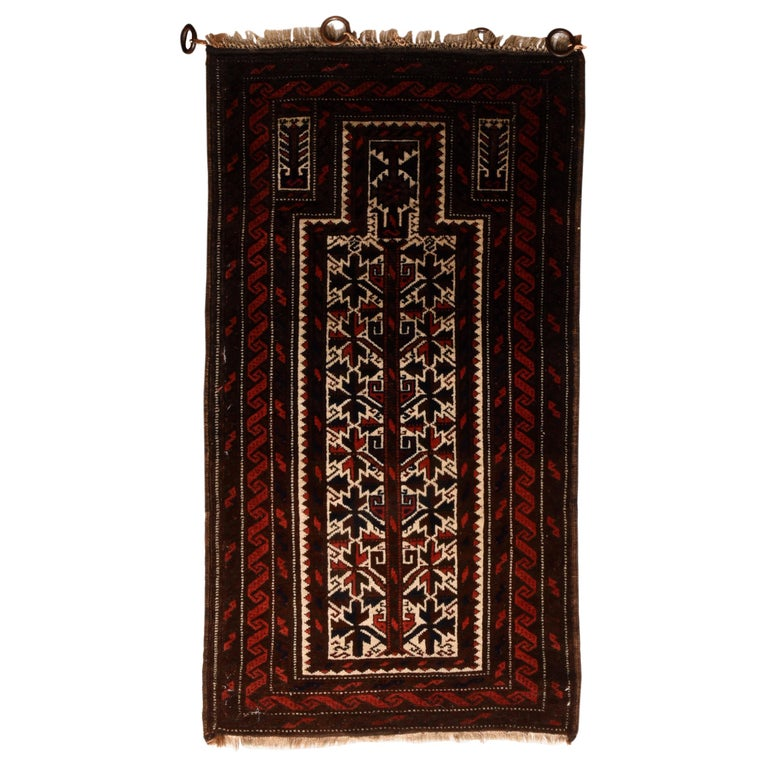 Fine Antique Persian Baluch Rug, Hand Knotted, circa 1930s For Sale