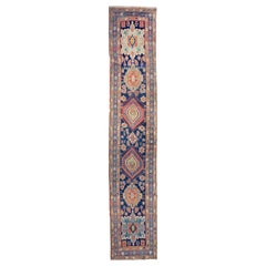 Fine Antique Persian Heriz/Serapi Runner Rug, Hand Knotted, circa 1890