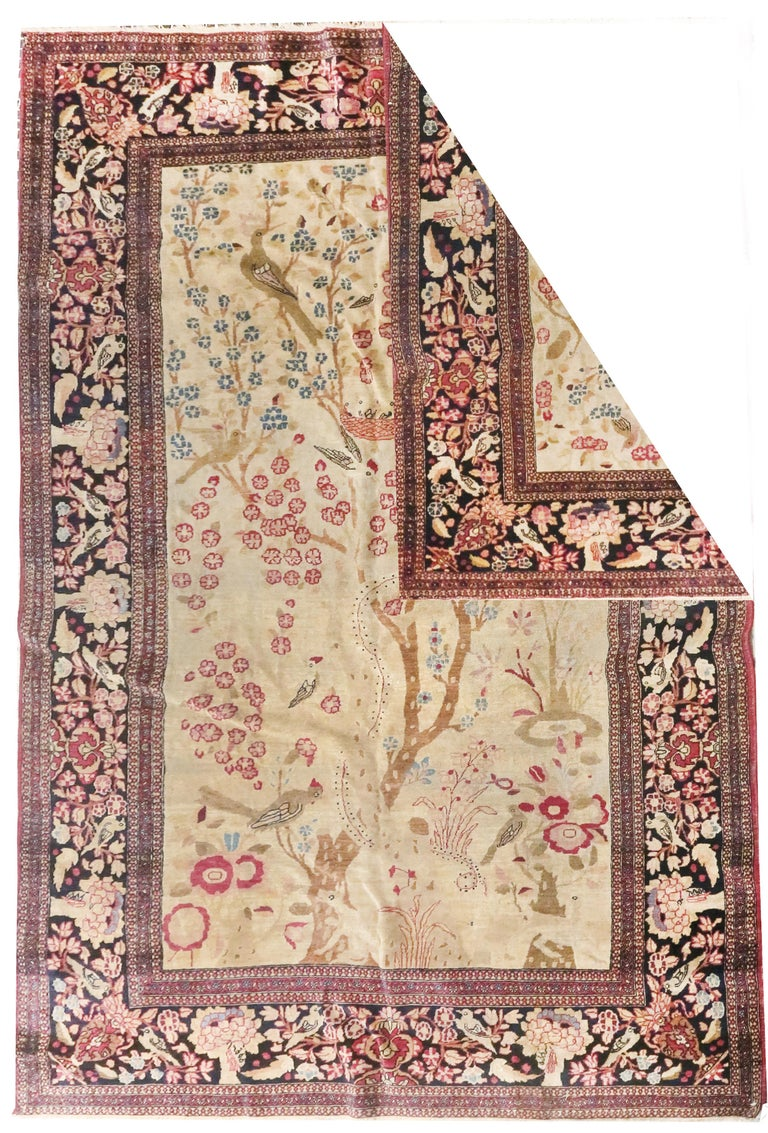 Other Fine Antique Persian Isfahan 'Ahmad' Rug, Hand Knotted, circa 1890 For Sale