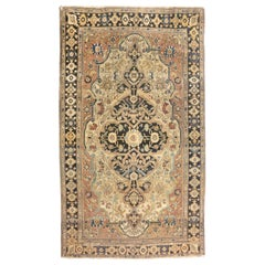 Fine Antique Persian Mohtasham Kashan Rug, Hand Knotted, circa 1890