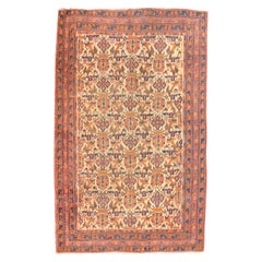 Fine Antique Persian Tribal Afshar Rug, Hand Knotted, circa 1890