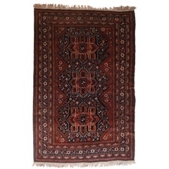 Fine Antique Qashqai/Kashkai Persian Rug, Hand Knotted, circa 1920