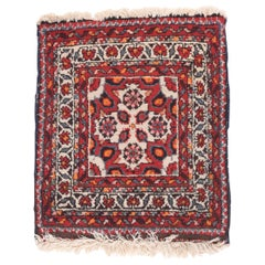 Fine Antique Red Hamedan Persian Rug, Hand Knotted, circa 1920
