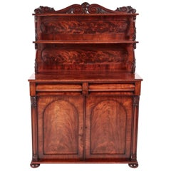 Fine Antique Regency Carved Mahogany Chiffonier