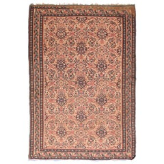 Fine Antique Senneh Persian Klim Rug, Hand Knotted, circa 1890
