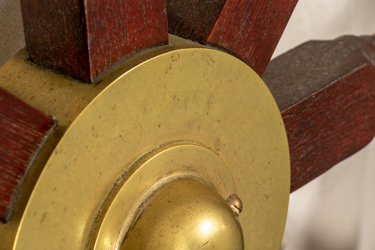 Fine Antique Ship's Wheel In Good Condition For Sale In Bridgeport, CT