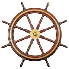 Fine Antique Ship's Wheel