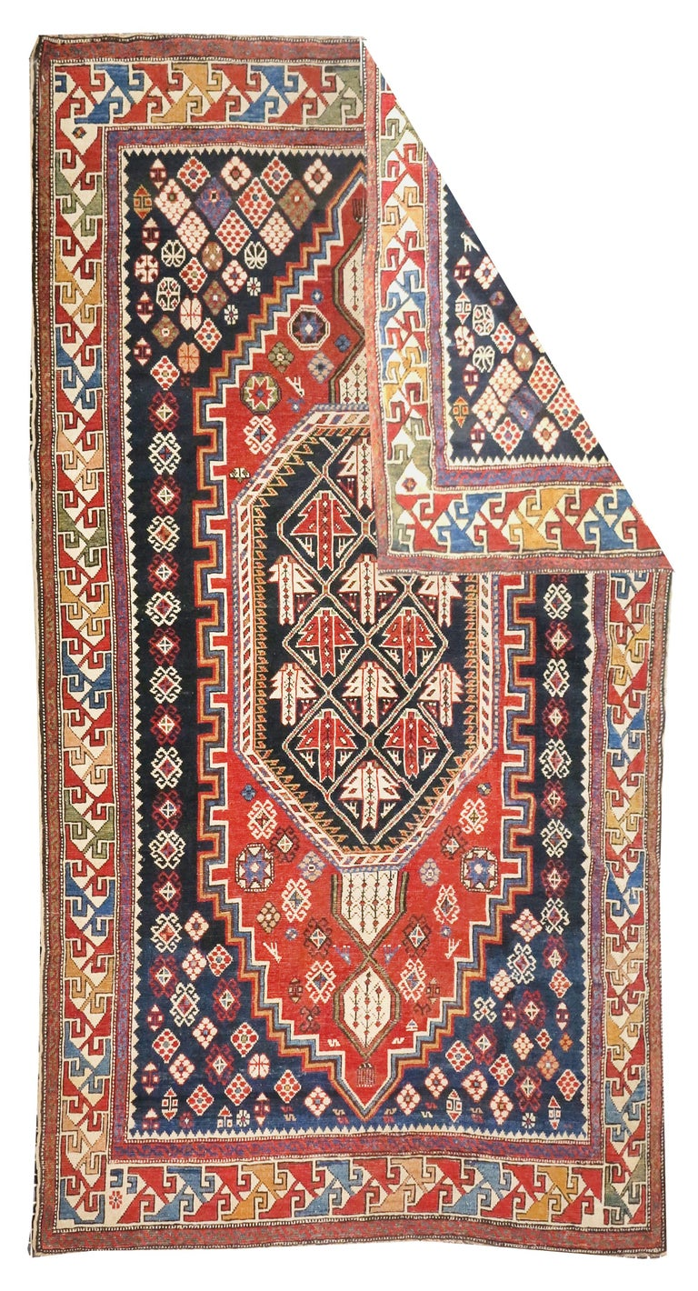 Other Fine Antique Shirvan Caucasion Rug, Hand Knotted, circa 1890 For Sale