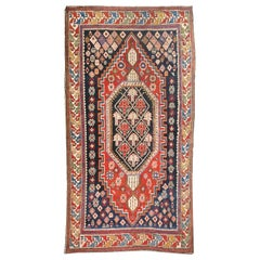 Fine Antique Shirvan Caucasion Rug, Hand Knotted, circa 1890