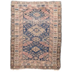 Fine Antique Shirvan Russian Rug, Hand Knotted, circa 1910