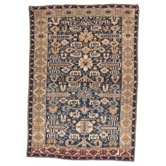 Fine Antique Shirvan-Zeyhore Russian Rug, Hand Knotted, circa 1890