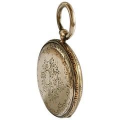 Fine Antique Silver Key-Wind Pocket Watch