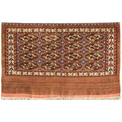 Fine Antique Tekke Turkomen Rug, circa 1900