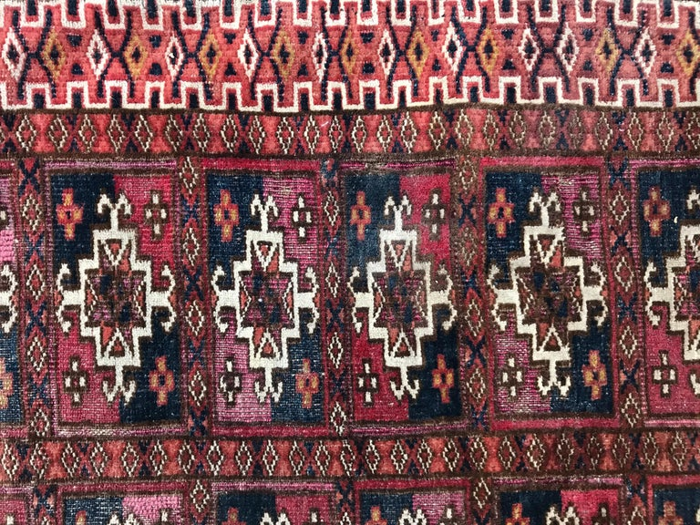 Fine Antique Turkmen Chuval Rug For Sale 2