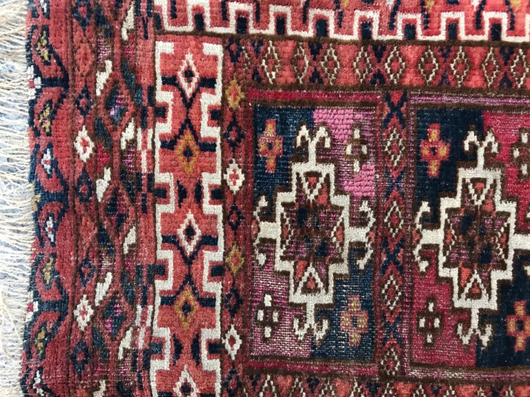 Fine Antique Turkmen Chuval Rug For Sale 3