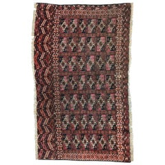 Fine Antique Turkmen Chuval Rug