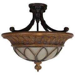 Fine Art Lamps Casa Di Campagna Two-Light Semi-Flush Mount Ceiling Light