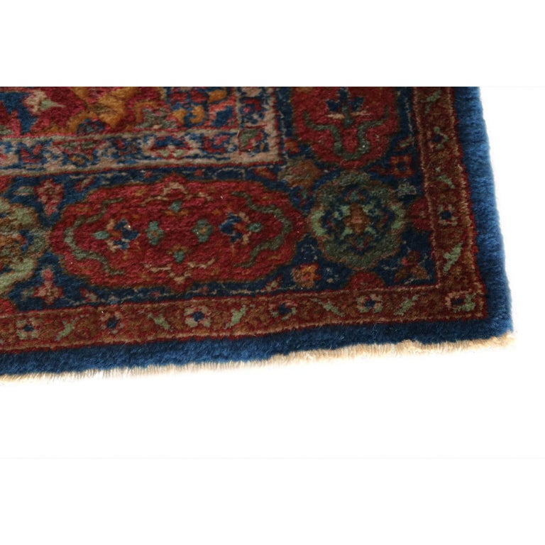 Persian Fine Authentic Vintage Muud Rug, 20th Century For Sale