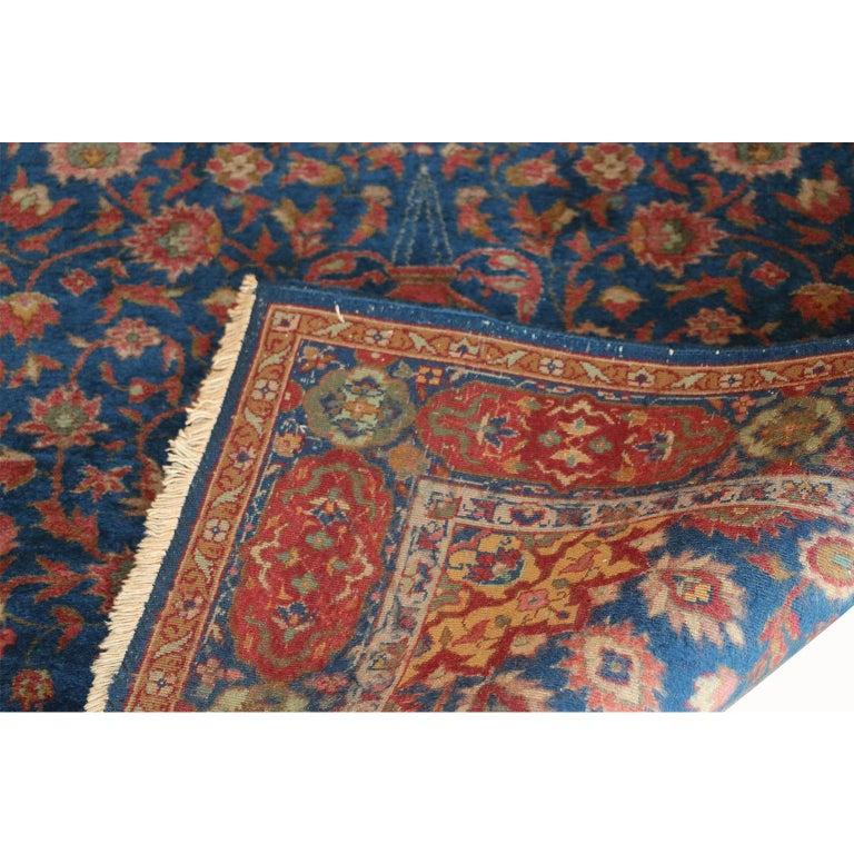 Early 20th Century Fine Authentic Vintage Muud Rug, 20th Century For Sale