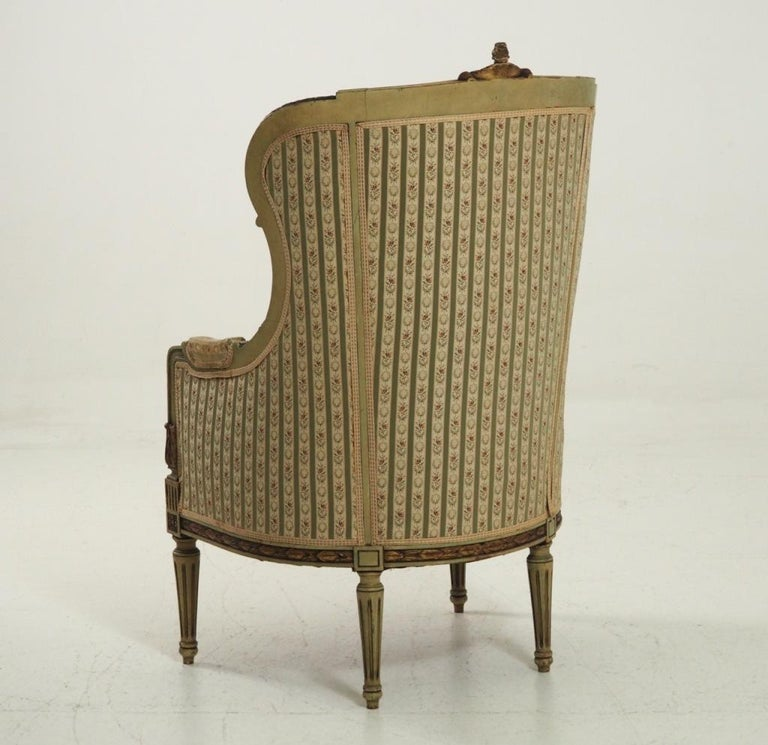 Fine Bergère, Second Half of the 19th Century In Good Condition For Sale In Aalsgaarde, DK