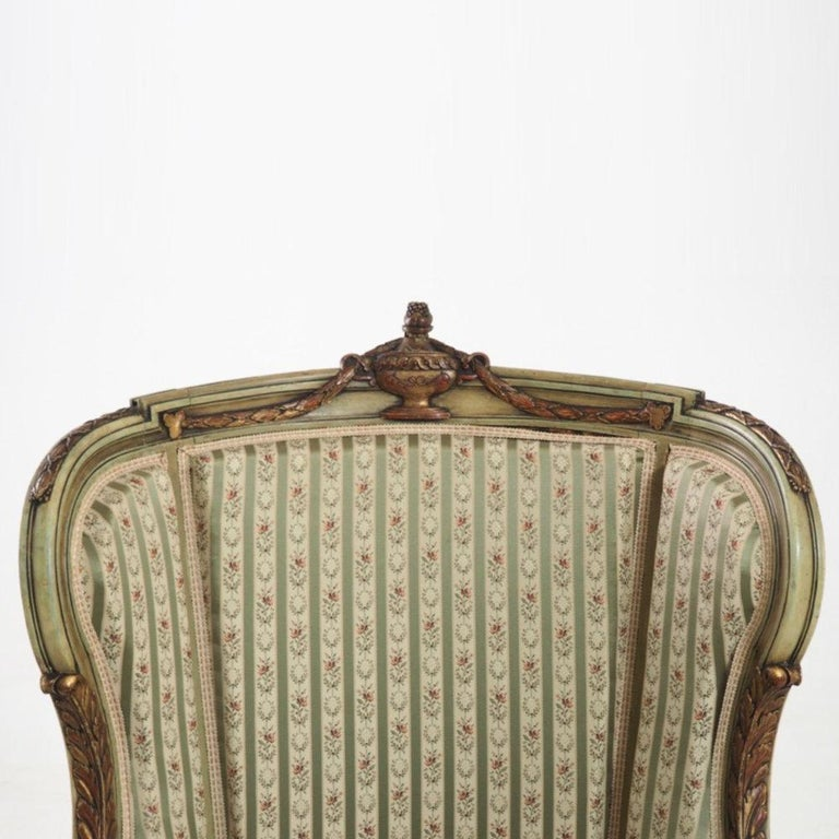 Wood Fine Bergère, Second Half of the 19th Century For Sale