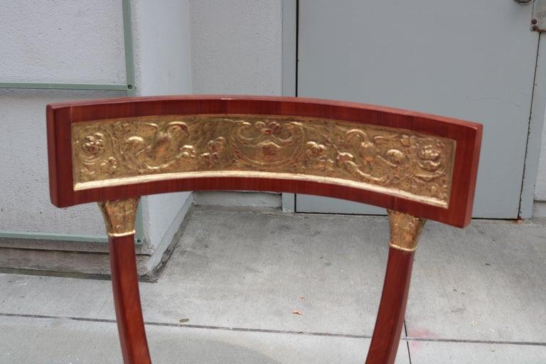 Austrian Fine Biedermeier Side Chair For Sale