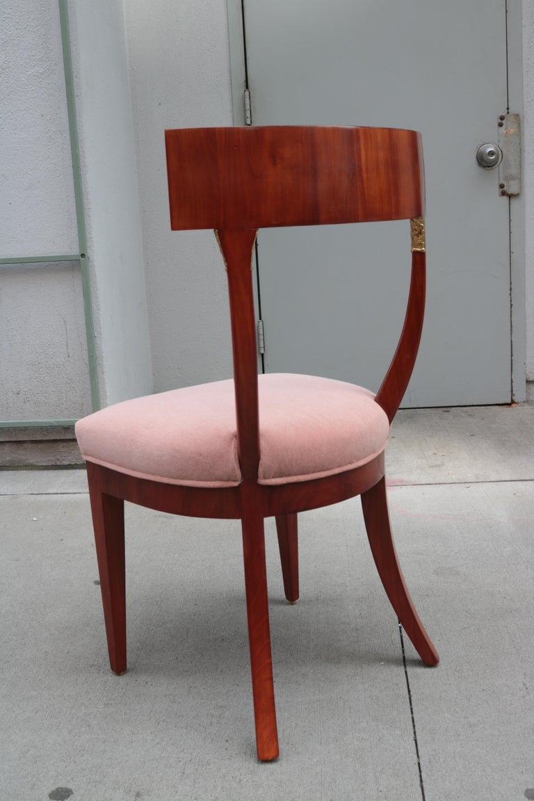 Fine Biedermeier Side Chair In Good Condition For Sale In New York, NY