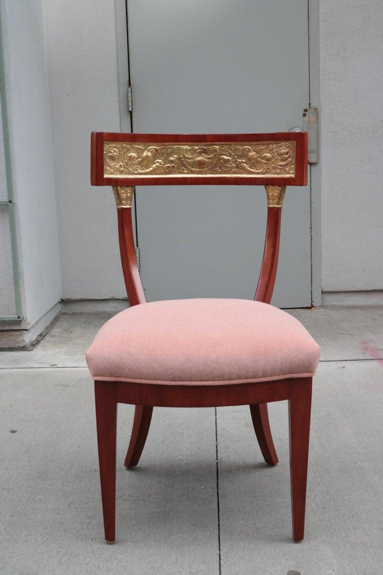 Early 19th Century Fine Biedermeier Side Chair For Sale