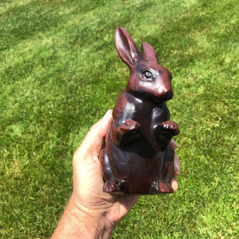 Fine Big Hand Cast Bronze