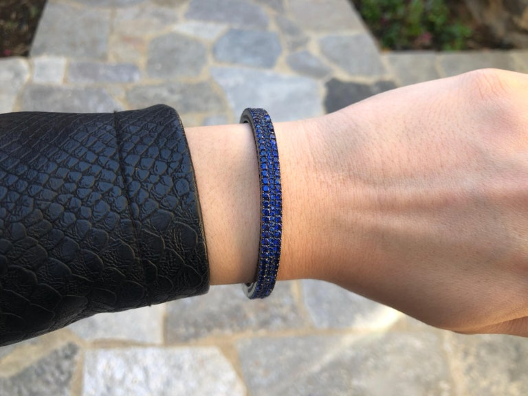 This item is perfect for any event and holiday. The secure fit promises carefree wear and stability, while the appearance ensures that this bracelet will be the center of attention on any ensemble. Featuring a radiant flawless Rhodium Plated