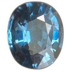 Fine Blue Spinel 1.20 Carat Oval Cut Loose Gemstone
