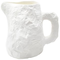 Fine Bone China Jug Slip-Cast Hand Carved Plaster Models
