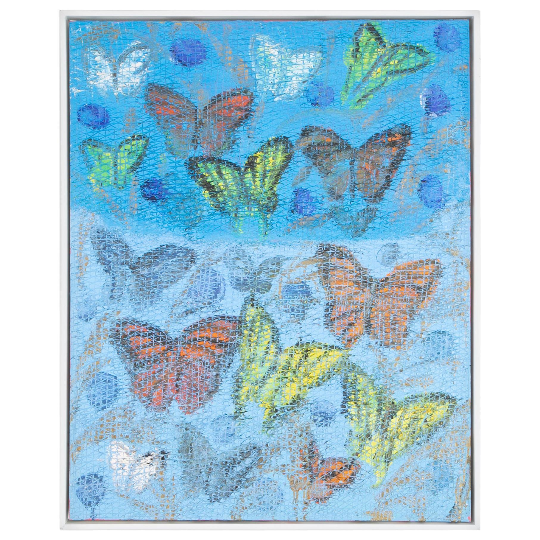 """""""Fine Butterflies 2"""" by Hunt Slonem"""
