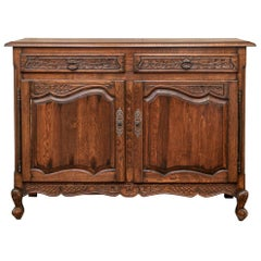 Fine Carved Country French Server