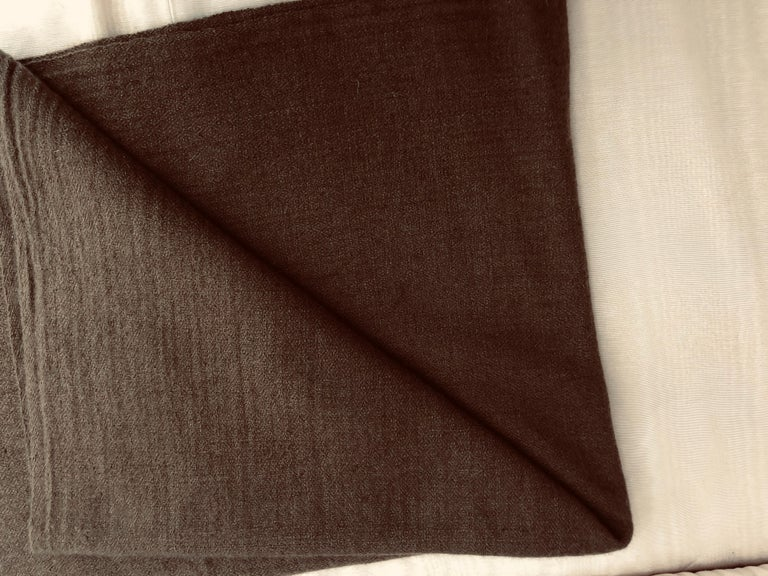Women's Fine Cashmere (made in Kashmir) Hand Woven and Signed Shawl 75