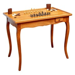 Fine Cherry French Style Games Table