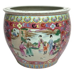Fine Chinese Famille Verte Fishbowl