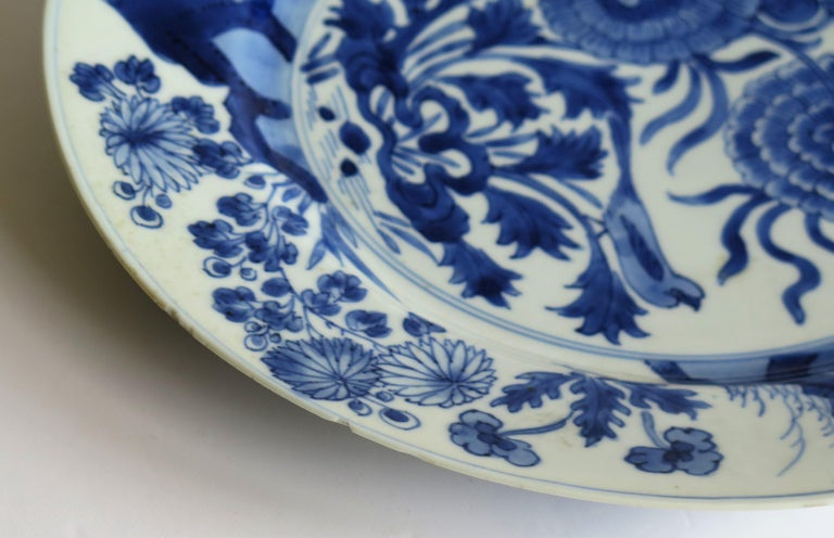 Fine Chinese Porcelain Blue and White Plate, Kangxi Period & Mark, circa 1700 For Sale 5