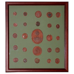 Collection of 19th Century Wax Seals