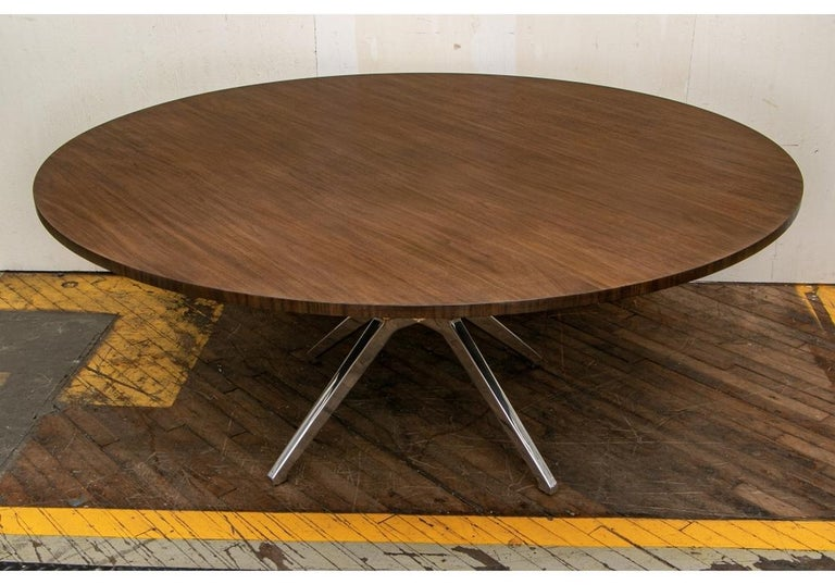 Wood Fine Contemporary Conference/ Dining Table and Chairs by Calligaris Italian Smar For Sale